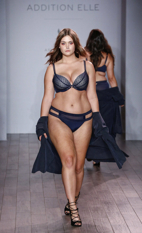 we love!! ashley graham's lingerie line for plus size women… | the